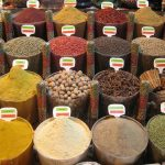 A spice market in Istanbul