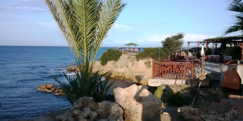 Horse Shoe Beach Restaurant Karsiyaka Northern Cyprus
